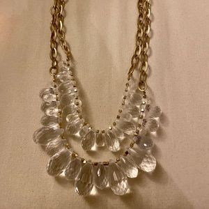 Chunky, gold necklace